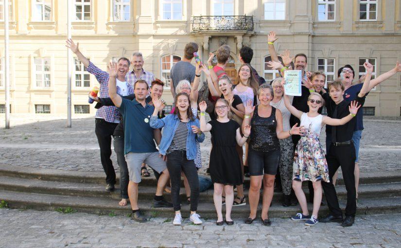 JBO siegt beim Unterstufen Wettbewerb in Werneck